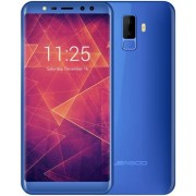 "Telefon mobil Leagoo M9, Procesor Quad-Core 1.3GHz, IPS 5.5"", 2GB RAM, 16GB Flash, Camera Duala 8MP+2MP, Wi-Fi, 4G, Dual SIM, Android (Albastru) + Cartela SIM Orange PrePay, 6 euro credit, 4 GB internet 4G, 2,000 minute nationale si internationale fix sau"