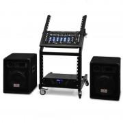 Electronic-Star 'Mercury Beat' Amplificador Altavoces DJ PA Rack (PL-Merkur)