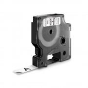 Etichete autocolante DYMO LabelManager D1 12mm x 7m negru alb 45013 S0720530
