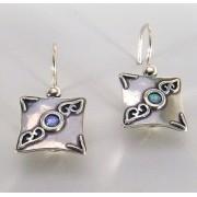 Cercei argint opal E1914B (Piatra: opal imperial, Categorie: cercei)