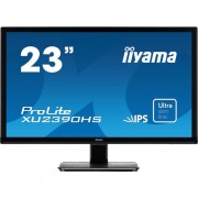 iiyama Prolite monitor LCD LED 23\ XU2390HS-B1, IPS, Full HD, DVI, HDMI, speakers, fekete