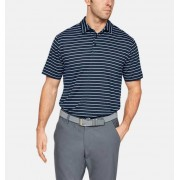Under Armour Herenpolo UA Crestable Playoff 2.0 - Mens - Navy - Grootte: Medium