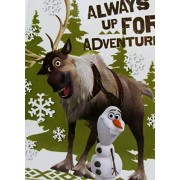 Disney Frozen 40 Page Journal Hardcover Featuring Olaf and Sven Always up for Adventure