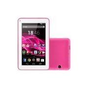 Tablet Multilaser M7s NB186, Android 4.4 Processador Quad Core 1.2Ghz 8GB Câmera 2MP Tela 7, Rosa