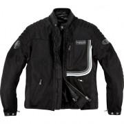 Helstons Motorradschutzjacke, Motorradjacke Helstons Sonny Mesh Textiljacke schwarz L schwarz