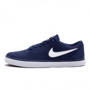 Shoes Nike SB Check Solarsoft Midnight Navy/White