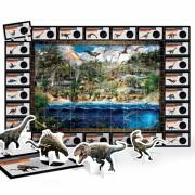 Puzzle 3D Dinozauri Headu