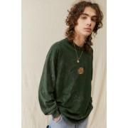 Urban Outfitters UO - T-shirt à manches longues avec logo de Tampau00a0Bayu00a0brodé- taille: M
