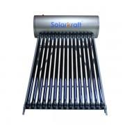 Panou solar presurizat cu 20 tuburi vidate, boiler 200 litri, SVT-200 inox