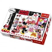 Puzzle Trefl, Disney Minnie la shopping, 60 piese