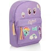 Ghiozdan My Little Pony cu stickere 38x28 cm