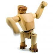 Areaware - Wooden Creatures - Hanno der Gorilla, groß
