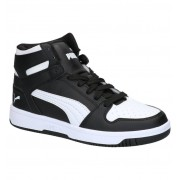 Puma Rebound Layup Zwarte Hoge Sneakers