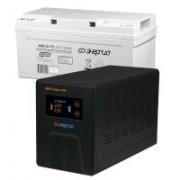 Комплект ИБП Инвертор Энергия Гарант 500 + Аккумулятор 75 АЧ