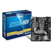 Дънна платка ASRock B250M-HDV, B250, LGA1151, DDR4, PCI-E (HDMI&DVI), 6x SATA 6Gb/s, 1x Ultra M.2 Socket, 4x USB 3.0, micro ATX