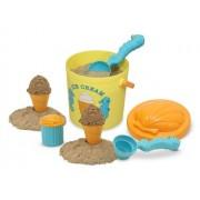 Melissa & Doug 6433 Speck Seahorse Sand Ice Cream Set