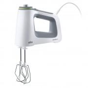 Mixer de mana Braun HM5000WH, 650 W, 6 viteze, alb