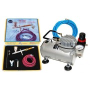 Paasche TG-SET Talon Airbrushing System with AirBrush-Depot TC-20
