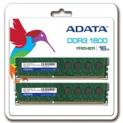 Adata 16 GB (2x8) DDR3, 1600 MHz, PC3-12800. Fri Frakt!