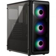 Кутия Estillo ATX Frost SI-5200 3FANS RGB