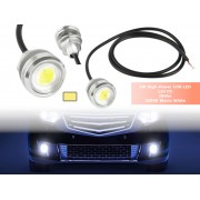 NTR LEDC11SIWW 3W High-Power COB LED autó nappali fény 3500K meleg-fehér 12V DC 0,25A