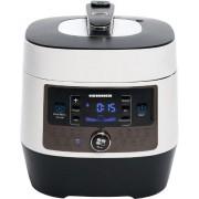 Multicooker Heinner HPCK-6WH, Timer, 14 programe, Display LED, Gatire aburi/sub presiune, 1000W (Alb/Negru)