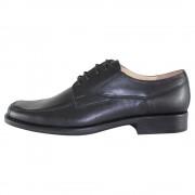 Pantofi eleganti, piele naturala barbati - negru, Nevalis - 446-Negru