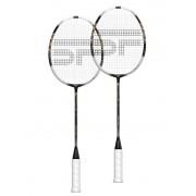 Spokey AZTEC (II) set 2 ks badminton rachete în recipient