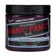 HIGH VOLTAGE CLASSIC SEMI-PERMANENT HAIR COLOUR (Purple Haze) (4oz) 118ml