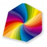 Fluturas Curcubeu Rainbow Swirl Metallic