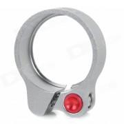 AEST YPU09A-08 31.8mm ultra ligero de aluminio de aleacion de bicicletas asiento poste abrazadera - gris
