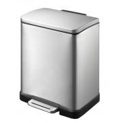 Кош за отпадъци с педал Eko E-Cube, 12 л - мат