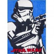 Disney Blauwe Star Wars fleece bankdeken voor jongens