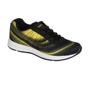 Altra Lace-Up Black & Yellow stylish Casual Sports Shoes for Men (Size- 7 )