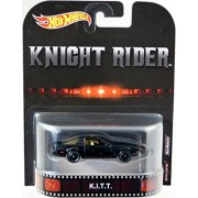 Mattel Hot Wheels 2017 Retro Entertainment Real Riders - Knight Rider K.I.T.T.