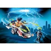 Playmobil Stanz con Moto Voladora