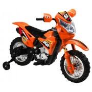 Vroom Rider VR093 Battery Operated 6V Kids Dirt Bike, Orange