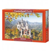 Пъзел Castorland VIEW OF THE NEUSCHWANSTEIN CASTLE, GERMANY, 3000 части C-300013
