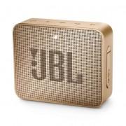 JBL Go 2 Wireless Portable Speaker - безжичен портативен спийкър за мобилни устройства (златист)