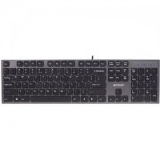 Клавиатура KV-300H, X-струк.,2 USB порт,grey - A4-KEY-KV-300H