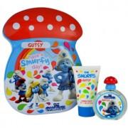 The Smurfs Gutsy lote de regalo I. eau de toilette 50 ml + espuma de baño 75 ml