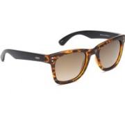 IDEE Rectangular Sunglasses(Golden)