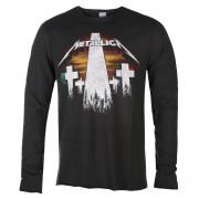 tričko pánské s dlouhým rukávem Metallica - Master of Puppets - CHARCOAL - AMPLIFIED - ZAV418B94