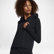 Nike Sportswear Tech Fleece Damen-Poncho mit durchgehendem Reißverschluss - Schwarz