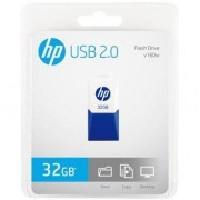 HP USB 2.0 HP v160w 32GB, White/Blue