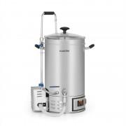 Klarstein Brauheld 15, пивоварна, 15 литра, 30 - 140 °C, Циркулационна помпа, неръждаема стомана (BRD3-Brauheld15)