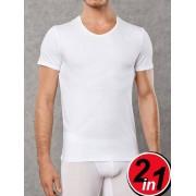 Doreanse Комплект футболок из хлопка белого цвета Doreanse Cotton Stretch 2800c02