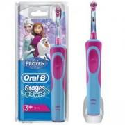 Детска електрическа четка за зъби Oral-B D12.513, Замръзналото кралство, Vitality Frozen