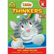 Bulk Buy: School Zone (3 Pack) Preschool Workbooks 32 Pages Little Thinkers Kindergarten Szpresch 2111