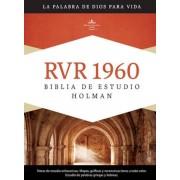 Biblia de Estudio Holman-Rvr 1960 = Holman Study Bible-Rvr 1960, Hardcover